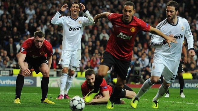United at the Bernabeu, with contributions from key players and the