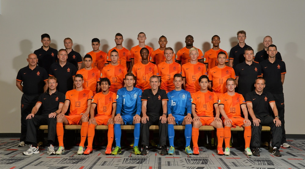 Netherlands Heads and Teams - UEFA European Under-19 Championship