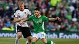 Martin Hinteregger (Austria) & Wes Hoolahan (Republic of Ireland)