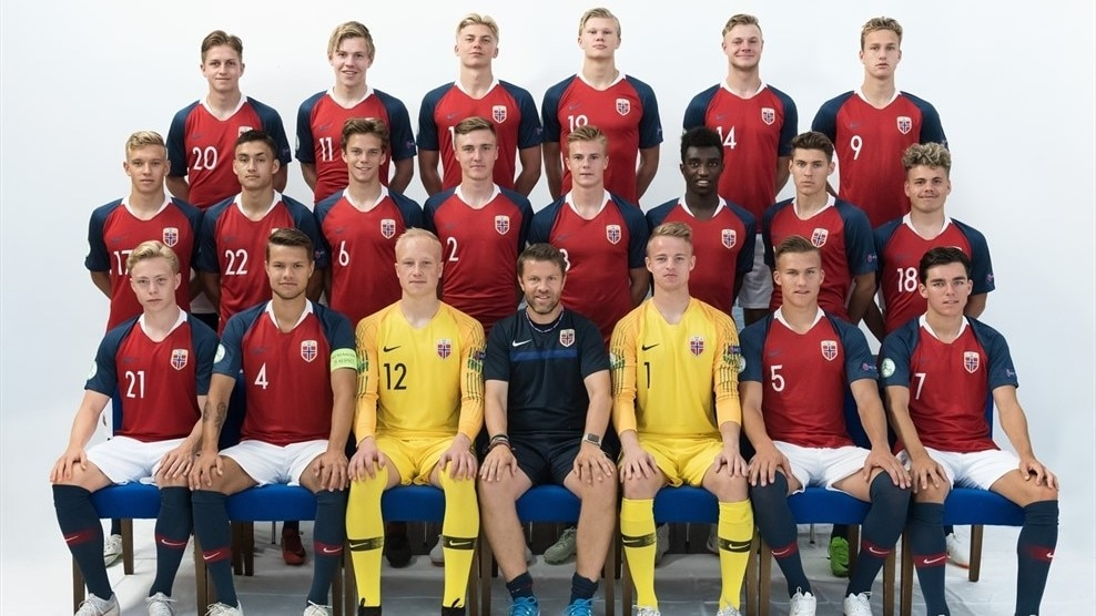 Norway squad U19