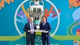 EURO 2020 logo launch Bucharest