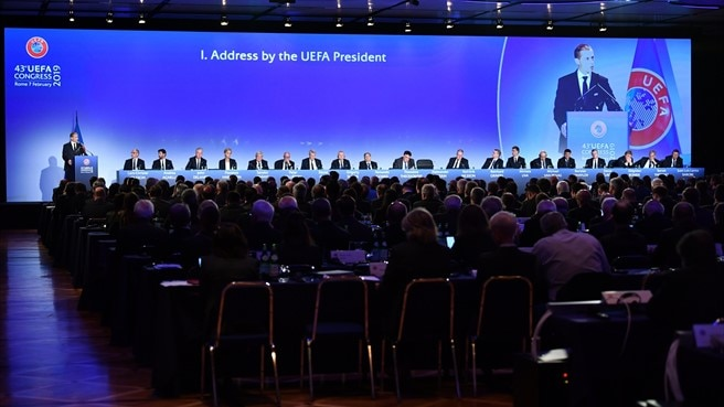 Aleksander Čeferin reelected as UEFA President