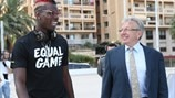 #EqualGame launch - Pogba Thomas